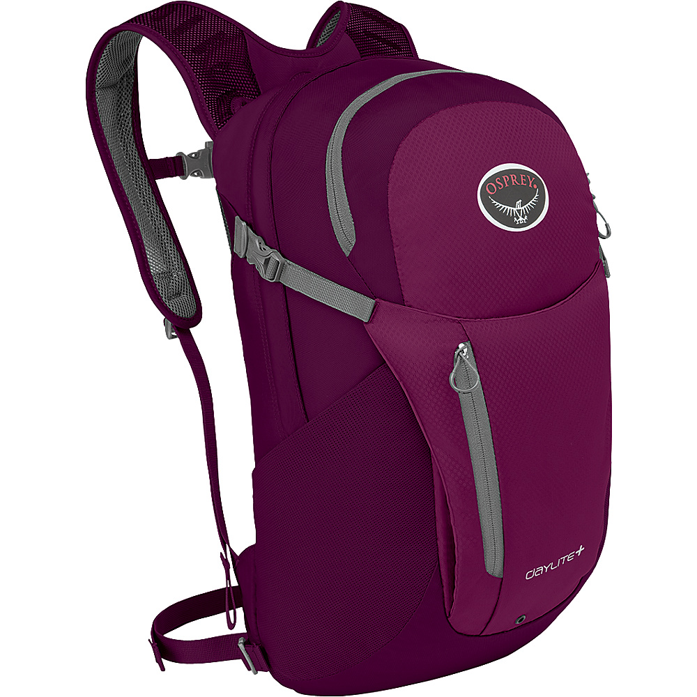 Osprey Daylite Plus Laptop Backpack Eggplant Purple - Osprey Laptop Backpacks - Backpacks, Laptop Backpacks