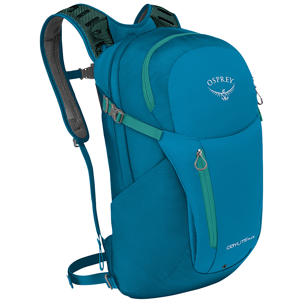 Osprey Daylite Plus Laptop Backpack Beryl Blue - Osprey Laptop Backpacks - Backpacks, Laptop Backpacks
