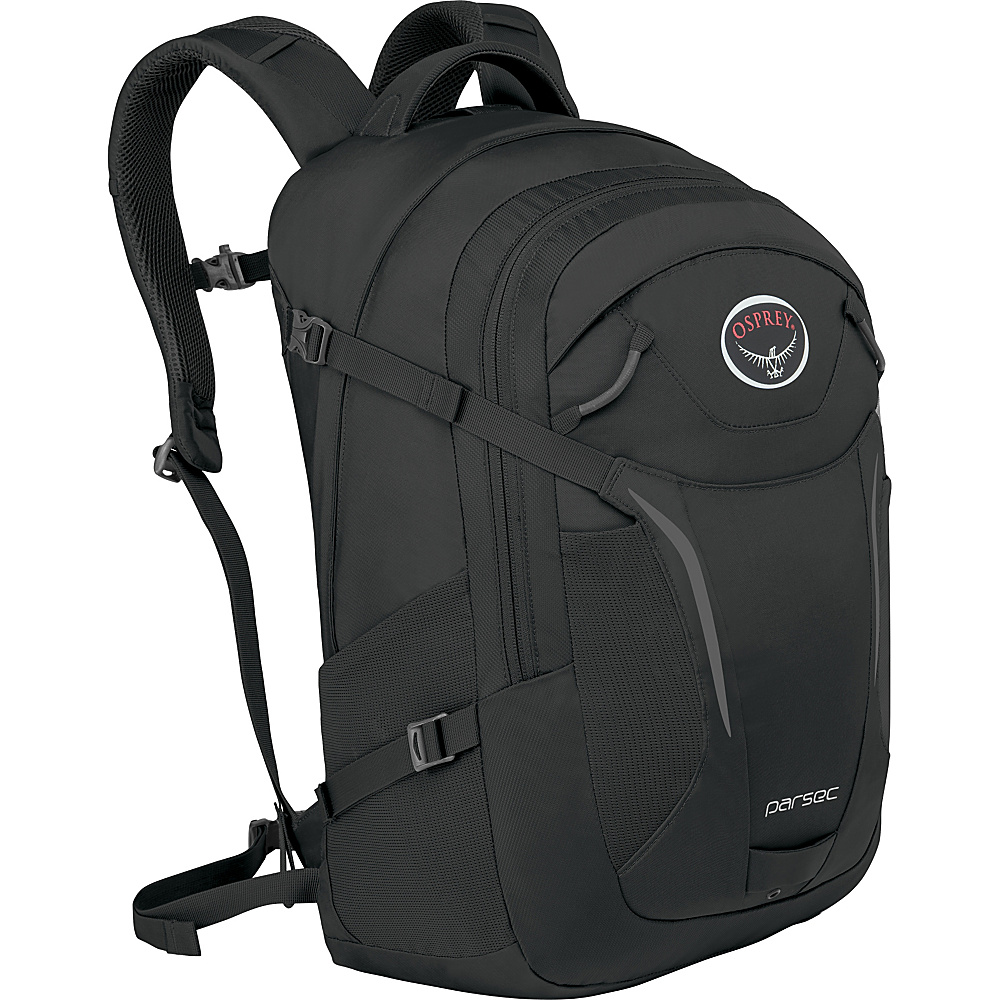 Osprey Parsec Backpack Black - Osprey Business & Laptop Backpacks - Backpacks, Business & Laptop Backpacks