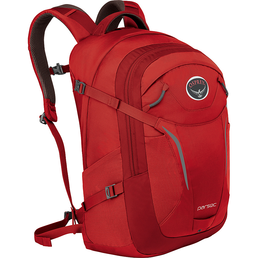 Osprey Parsec Backpack Robust Red - Osprey Business & Laptop Backpacks - Backpacks, Business & Laptop Backpacks