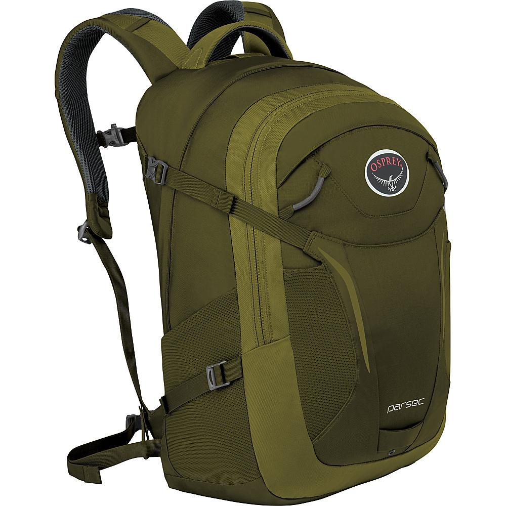 Osprey Parsec Backpack Olive Green - Osprey Business & Laptop Backpacks - Backpacks, Business & Laptop Backpacks