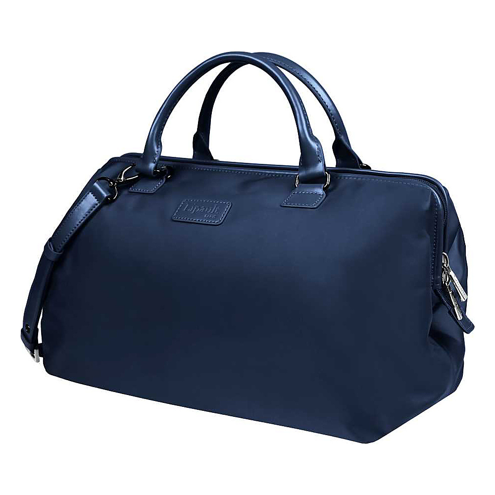 Lipault Paris Bowling Bag L Navy Lipault Paris Luggage Totes and Satchels