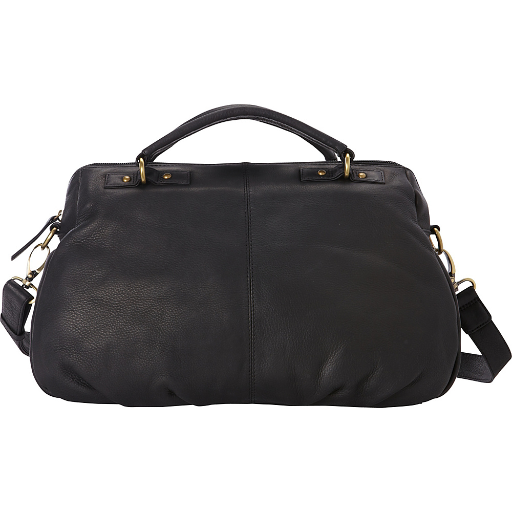 Derek Alexander Large EW Satchel Black - Derek Alexander Leather Handbags - Handbags, Leather Handbags