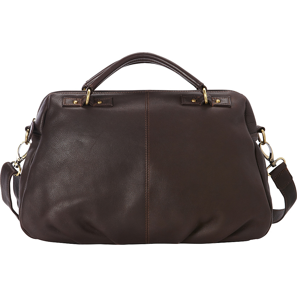 Derek Alexander Large EW Satchel Brown - Derek Alexander Leather Handbags - Handbags, Leather Handbags