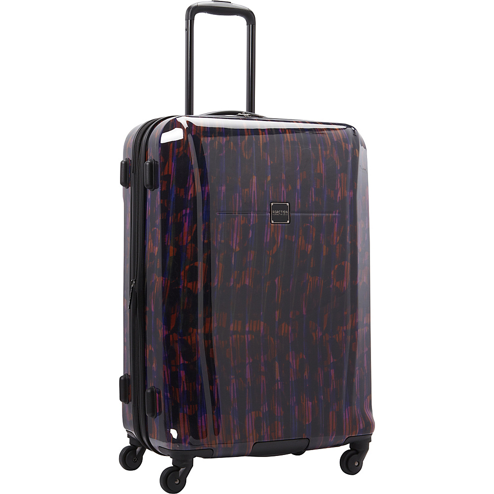 """Kenneth Cole Reaction The Real Collection 24"""" Checked Luggage Warm Red - Kenneth Cole Reaction Softside Checked"""