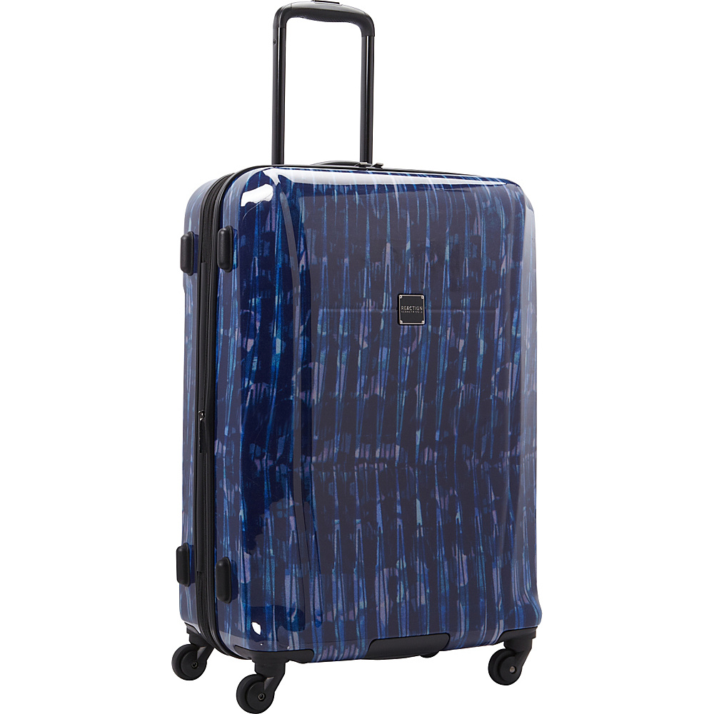 """Kenneth Cole Reaction The Real Collection 24"""" Checked Luggage Cool Blue - Kenneth Cole Reaction Softside Checked"""