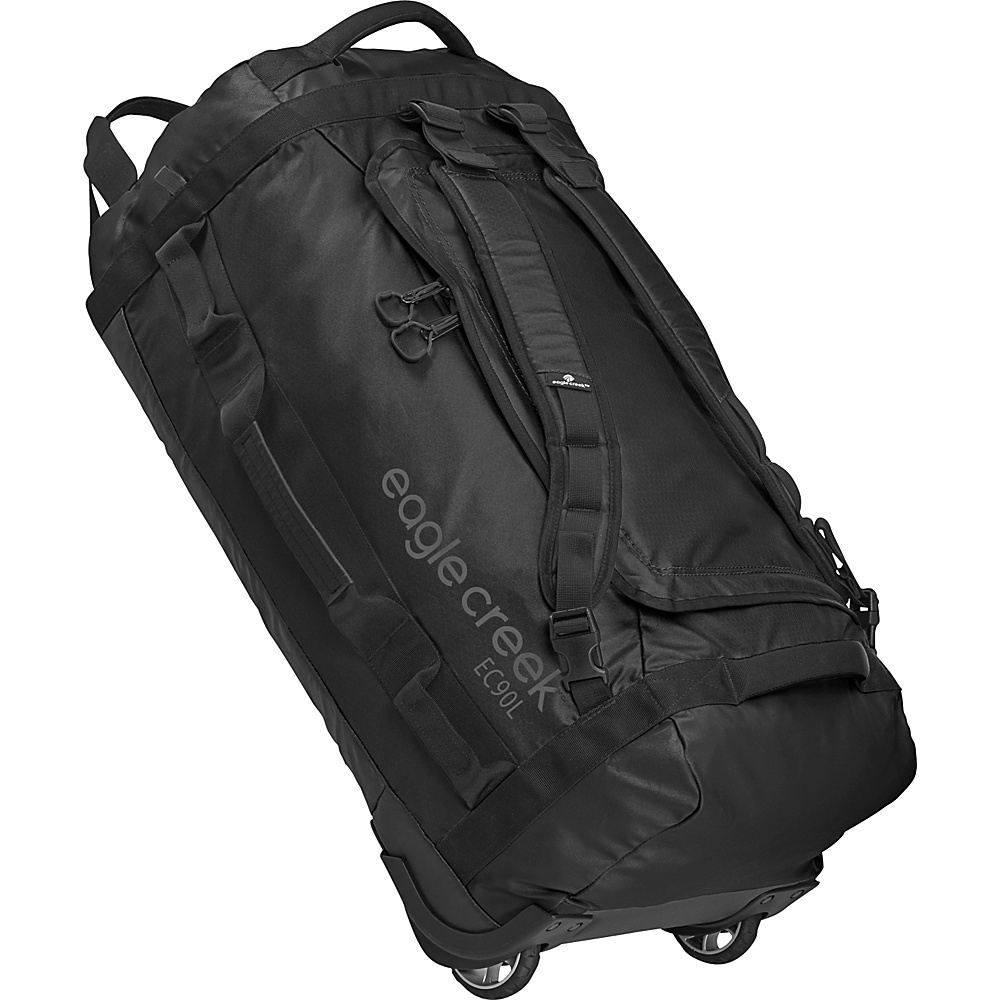 Eagle Creek Cargo Hauler Rolling Duffel 90L Black - Eagle Creek Softside Checked - Luggage, Softside Checked