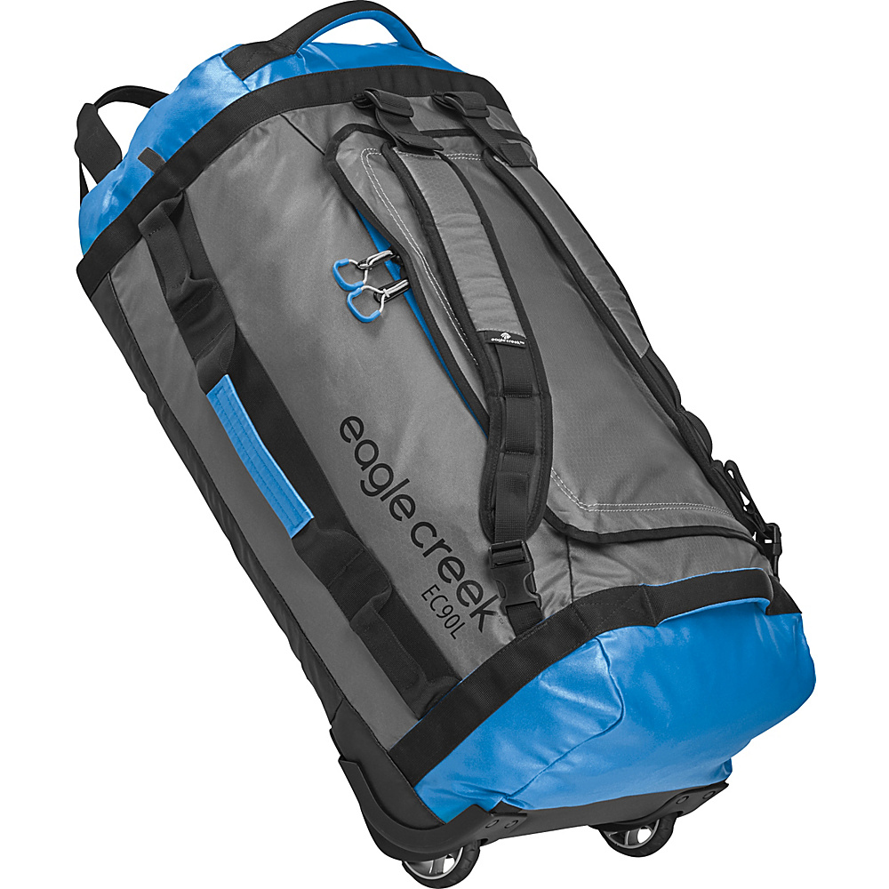 Eagle Creek Cargo Hauler Rolling Duffel 90L Blue/Grey - Eagle Creek Softside Checked - Luggage, Softside Checked