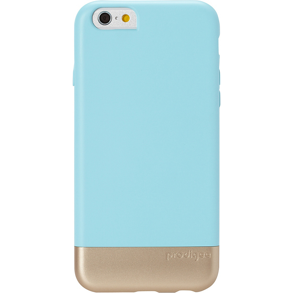 Prodigee Accent Case for iPhone 6 6s Aqua Gold Prodigee Electronic Cases