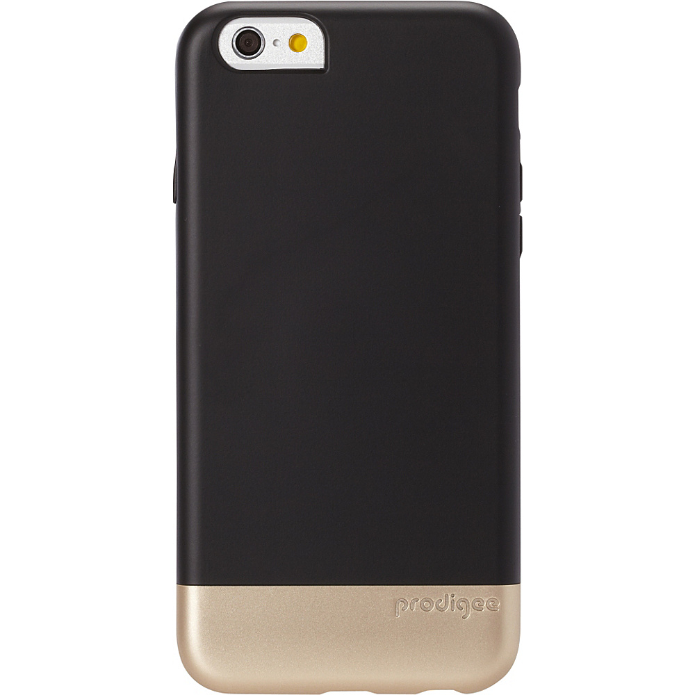 Prodigee Accent Case for iPhone 6 6s Black Gold Prodigee Electronic Cases