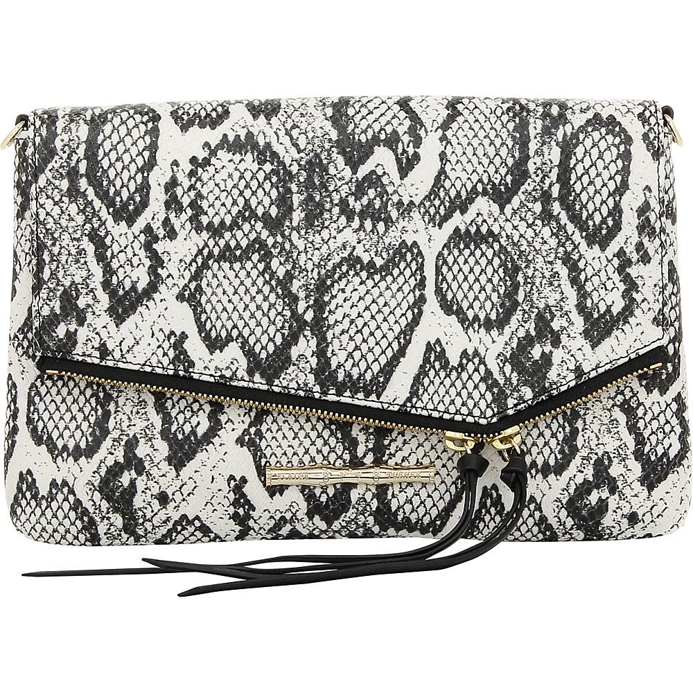 Elaine Turner Britt Python Clutch Domino Elaine Turner Designer Handbags