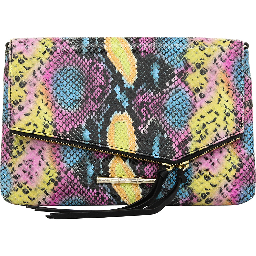 Elaine Turner Britt Python Clutch Pop Python Elaine Turner Designer Handbags