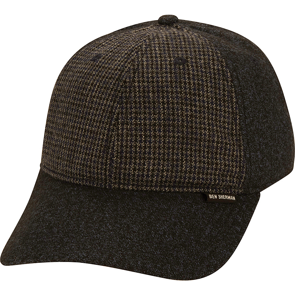 Ben Sherman Wool Baseball Cap S/M - Staples Navy-S/M - Ben Sherman Hats/Gloves/Scarves