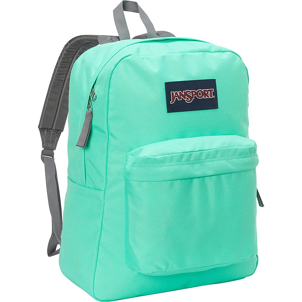 JanSport Superbreak Backpack- Sale Colors Seafoam Green - JanSport Everyday Backpacks