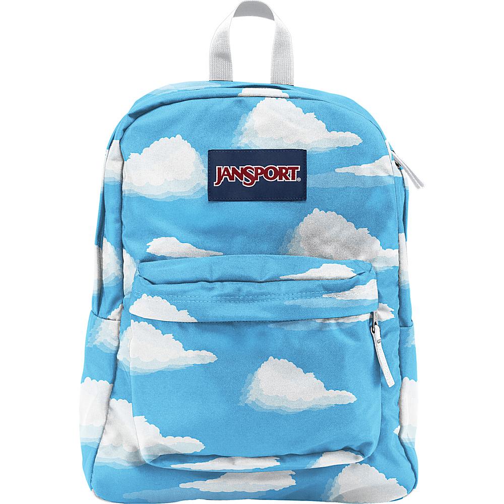 JanSport Superbreak Backpack- Sale Colors Partly Cloudy - JanSport Everyday Backpacks