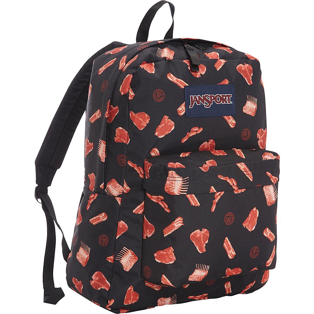 JanSport Superbreak Backpack- Discontinued Colors Multi Butcher Block - JanSport Everyday Backpacks - Backpacks, Everyday Backpacks