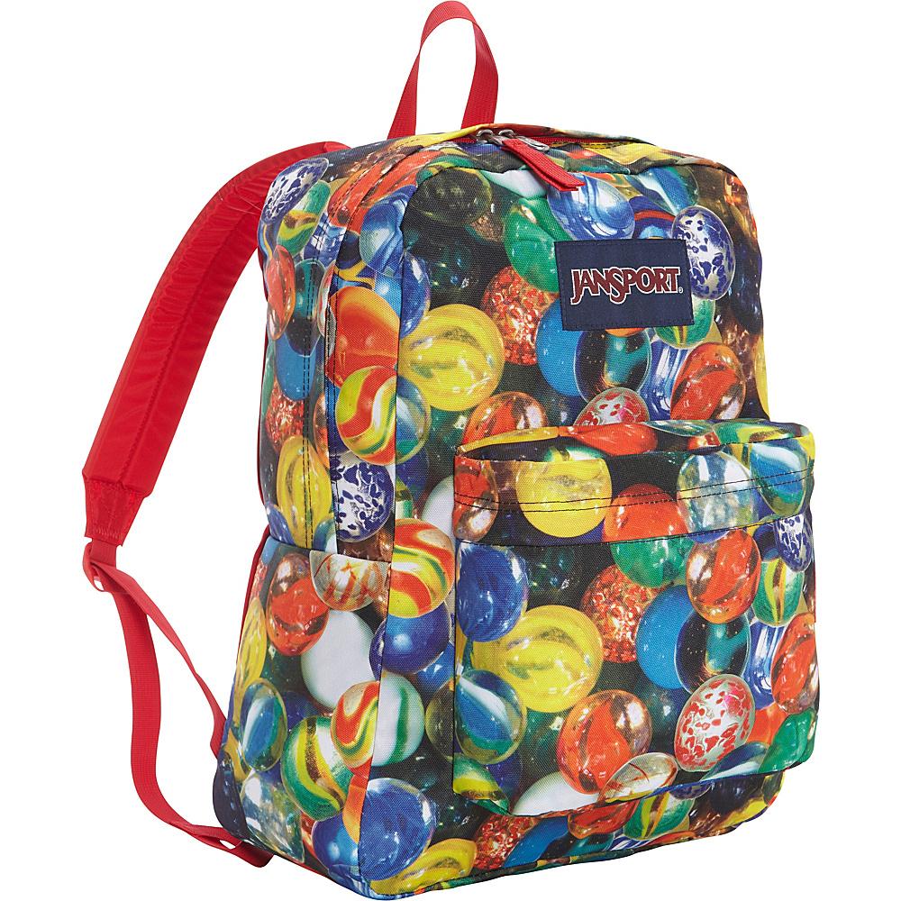 JanSport Superbreak Backpack- Discontinued Colors Multi Lost Marbles - JanSport Everyday Backpacks - Backpacks, Everyday Backpacks