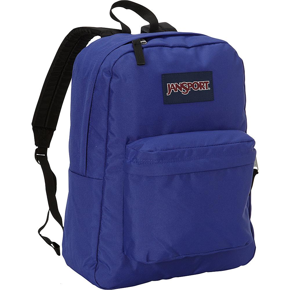 JanSport Superbreak Backpack- Discontinued Colors Violet Purple-Black Label - JanSport Everyday Backpacks - Backpacks, Everyday Backpacks