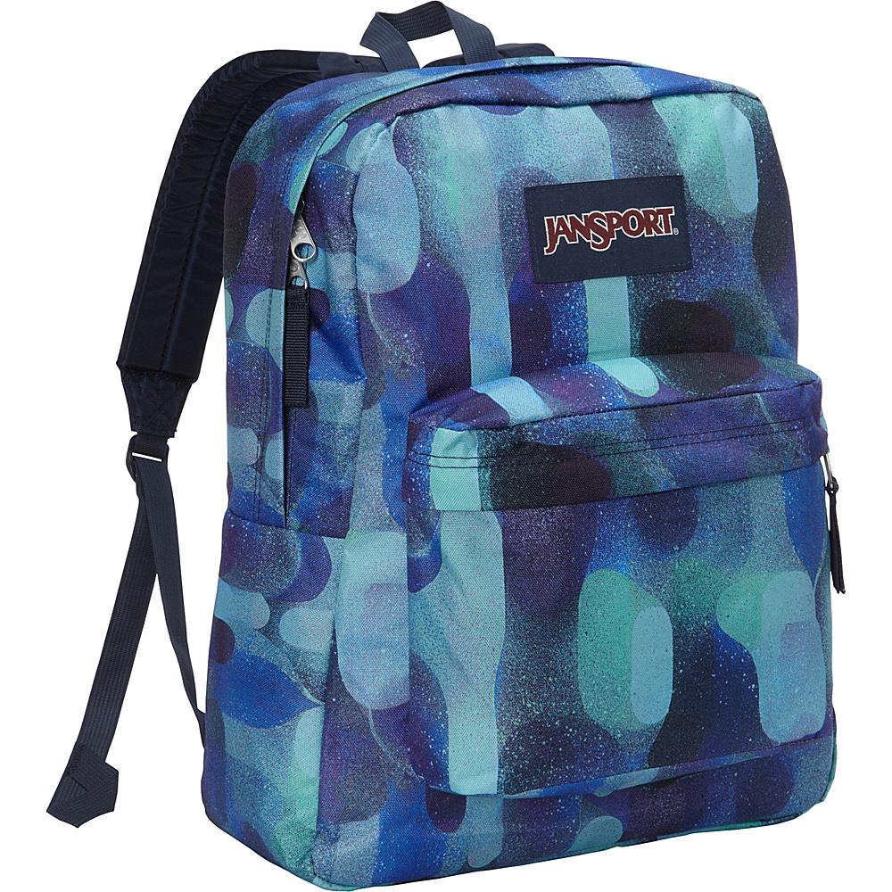 JanSport Superbreak Backpack- Discontinued Colors Multi Lava Lamp - JanSport Everyday Backpacks - Backpacks, Everyday Backpacks