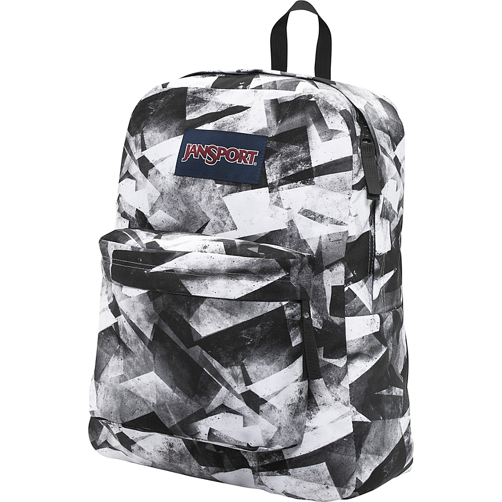 JanSport Superbreak Backpack- Discontinued Colors Shady Grey Shadow Angles - JanSport Everyday Backpacks - Backpacks, Everyday Backpacks