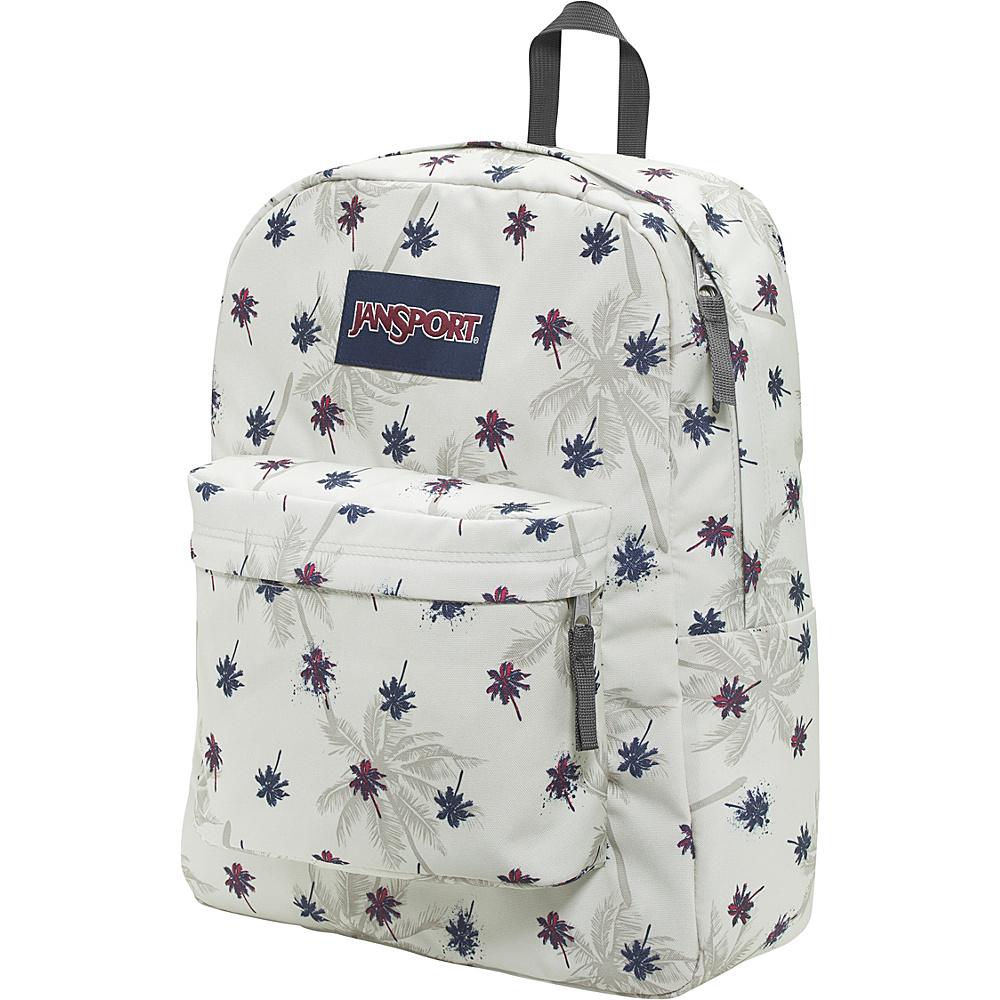 JanSport Superbreak Backpack- Discontinued Colors Goose Grey Urban Oasis - JanSport Everyday Backpacks - Backpacks, Everyday Backpacks