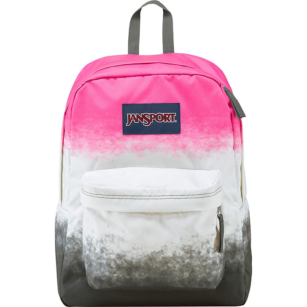 JanSport Superbreak Backpack- Discontinued Colors Multi Pink Color Ombre - JanSport Everyday Backpacks - Backpacks, Everyday Backpacks