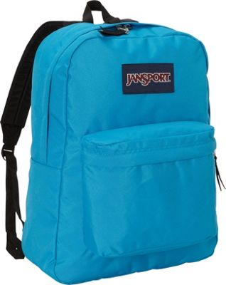 JanSport Superbreak Backpack- Sale Colors Blue Crest - JanSport Everyday Backpacks