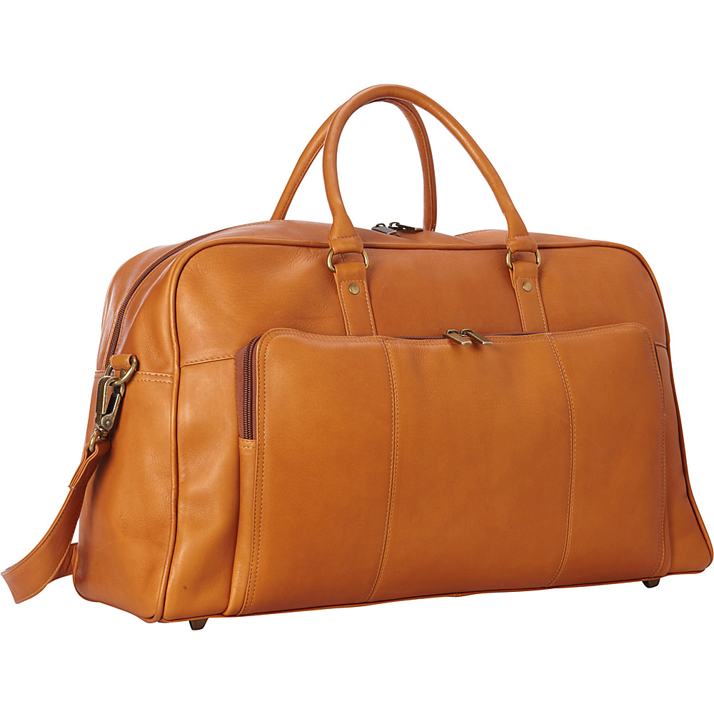 Le Donne Leather Frontier Duffel Tan - Le Donne Leather Rolling Duffels - Luggage, Rolling Duffels