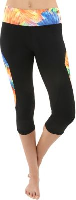Electric Yoga Bahamas Capri XS/S - Black/Teal - Electric Yoga Women's Apparel