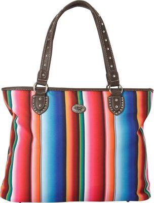 Montana West Serape Tote Multi 2 - Montana West Fabric Handbags