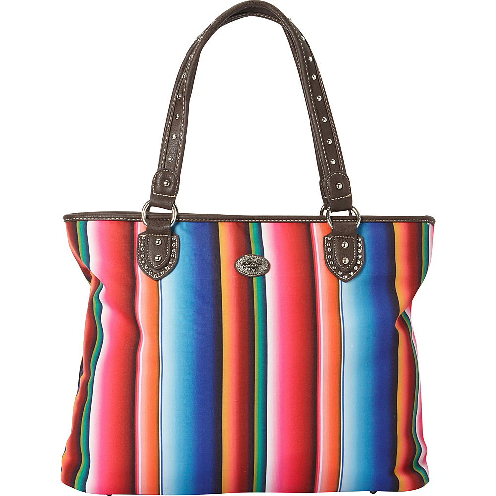 Montana West Serape Tote Multi 2 Montana West Fabric Handbags
