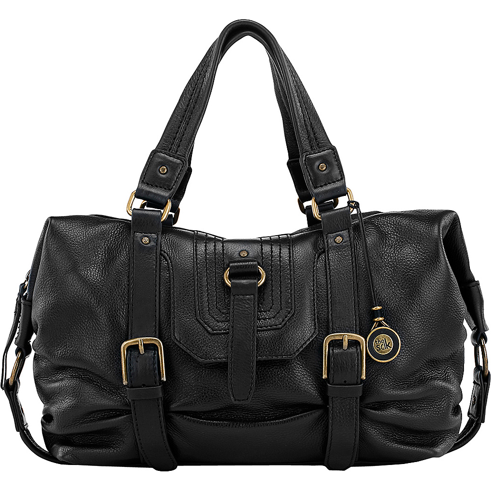 The Sak Carmel Convertible Satchel Black The Sak Leather Handbags