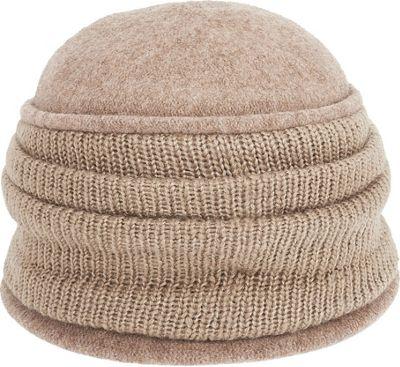 Adora Hats Wool Cloche Hat One Size - Cashmere - Adora Hats Hats