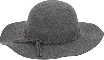 Adora Hats Wool Felt Floppy Hat Grey - Adora Hats Hats