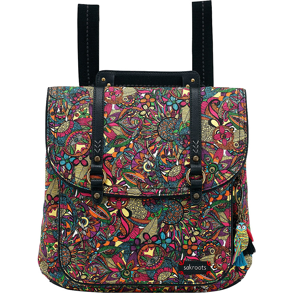 Sakroots Artist Circle Convertible Backpack Rainbow Spirit Desert - Sakroots Everyday Backpacks - Backpacks, Everyday Backpacks