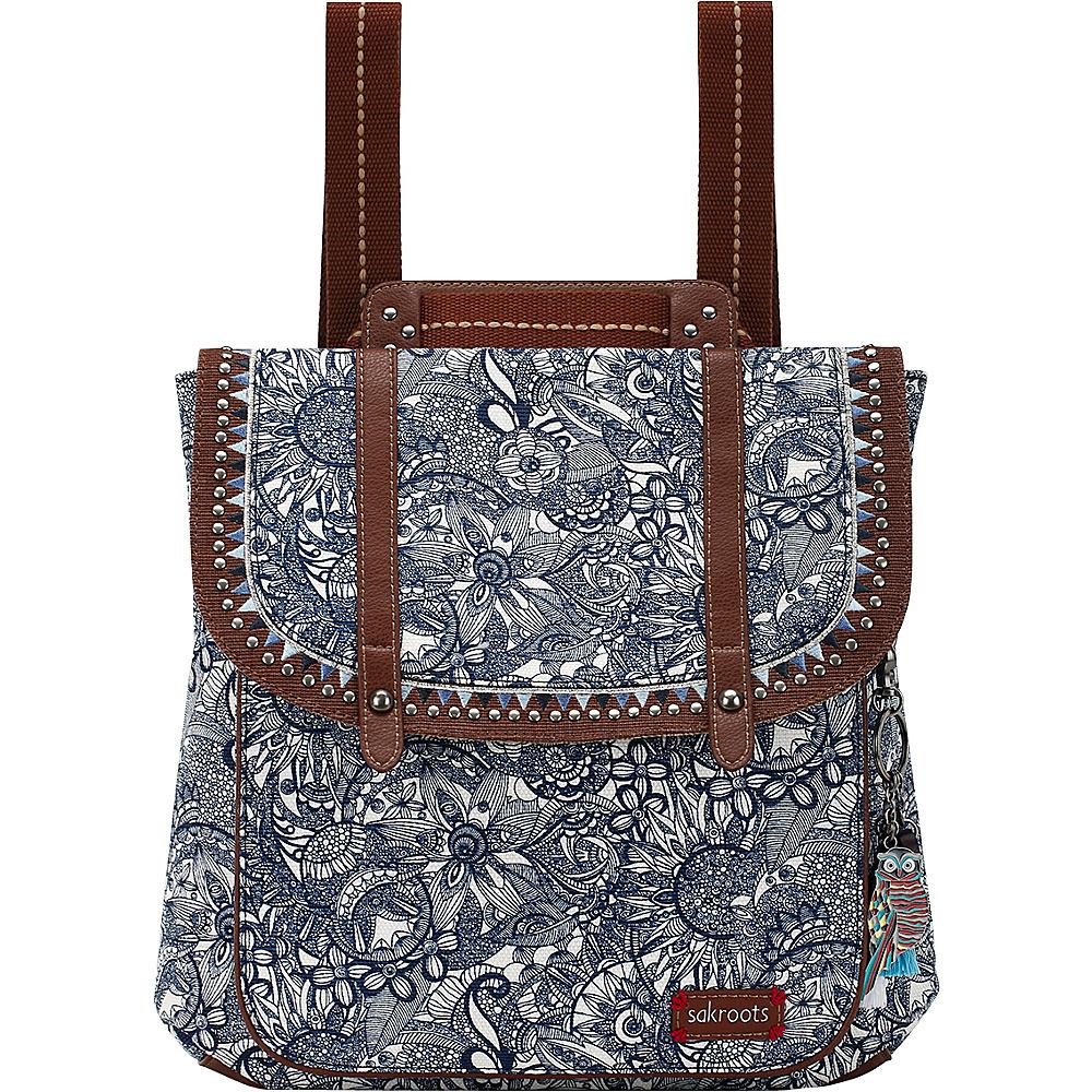 Sakroots Artist Circle Convertible Backpack Navy Spirit Desert - Sakroots Everyday Backpacks - Backpacks, Everyday Backpacks