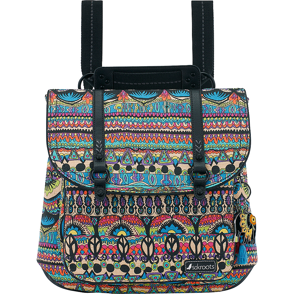 Sakroots Artist Circle Convertible Backpack Radiant One World - Sakroots Everyday Backpacks - Backpacks, Everyday Backpacks