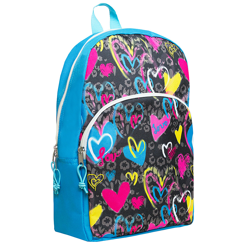 MKF Collection Girls Fun and Funky Back To School Backpack Blue - MKF Collection Everyday Backpacks - Backpacks, Everyday Backpacks