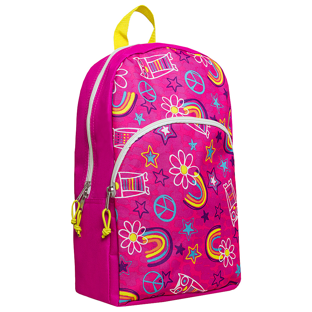 MKF Collection Girls Fun and Funky Back To School Backpack Pink - MKF Collection Everyday Backpacks - Backpacks, Everyday Backpacks