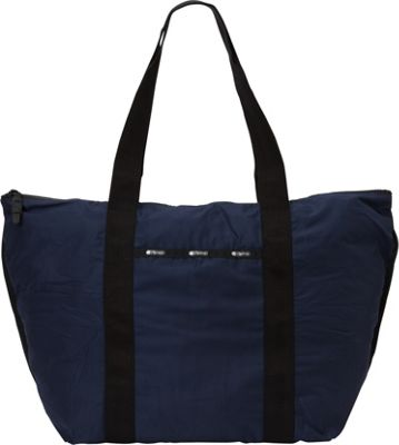 LeSportsac Travel Large On-the-Go Tote Classic Navy T - LeSportsac Fabric Handbags