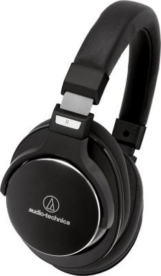 Audio Technica ATH-MSR7NC  SonicPro High-Resolution Headphones Black - Audio Technica Headphones & Speakers