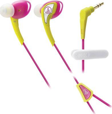 Audio Technica SonicSport In-ear Headphones Yellow - Audio Technica Headphones & Speakers