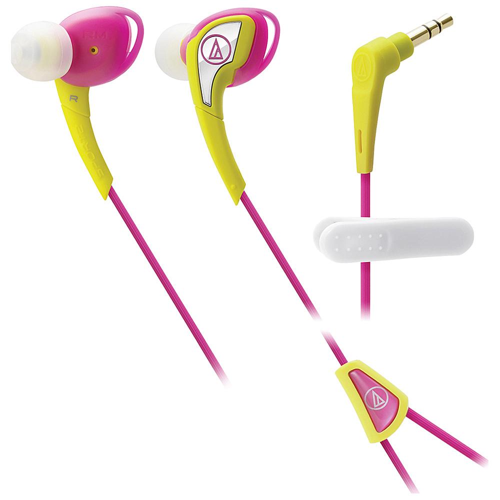 Audio Technica SonicSport In ear Headphones Yellow Audio Technica Headphones Speakers