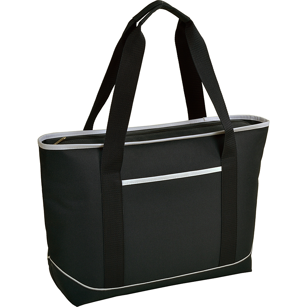 Picnic at Ascot Large Insulated Cooler Bag - 24 Can Tote Black/White - Picnic at Ascot Outdoor Coolers - Outdoor, Outdoor Coolers