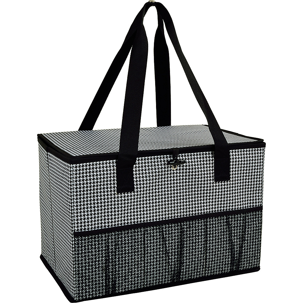 Picnic at Ascot Collapsible Storage Container/Organizer for Home and Trunk Houndstooth - Picnic at Ascot Outdoor Coolers - Outdoor, Outdoor Coolers