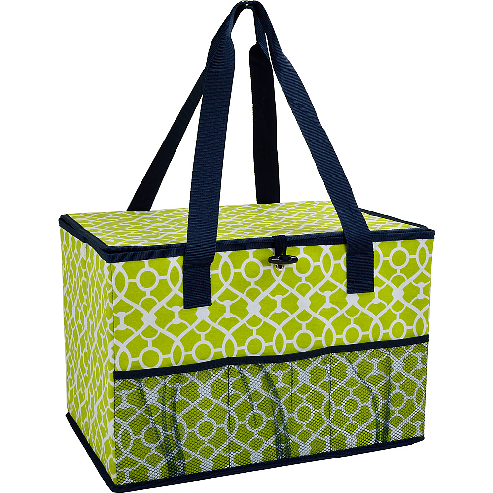 Picnic at Ascot Collapsible Storage Container/Organizer for Home and Trunk Trellis Green - Picnic at Ascot Outdoor Coolers - Outdoor, Outdoor Coolers