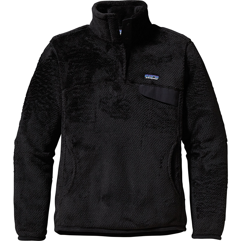 Patagonia Womens Re-Tool Snap-T Pullover XXS - Black - Patagonia Womens Apparel - Apparel & Footwear, Women's Apparel