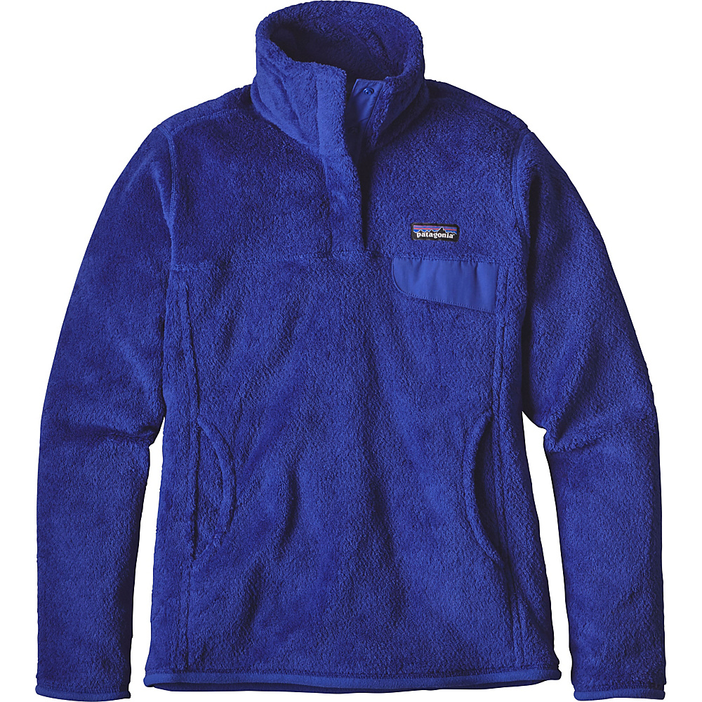 Patagonia Womens Re-Tool Snap-T Pullover XS - Harvest Moon Blue - Harvest Moon Blue X-Dye - Patagonia Womens Apparel - Apparel & Footwear, Women's Apparel