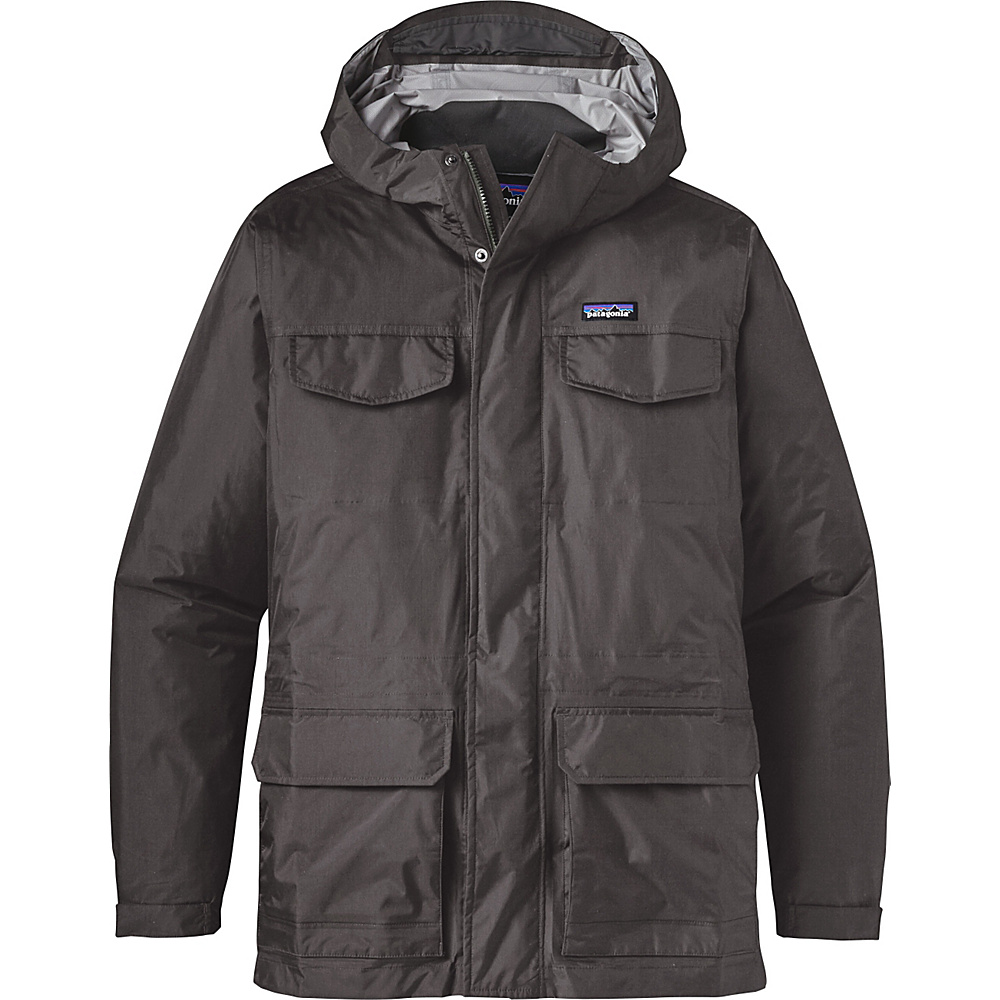Patagonia Mens Torrentshell Parka S - Forge Grey - Patagonia Mens Apparel - Apparel & Footwear, Men's Apparel
