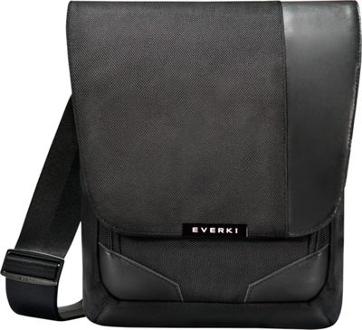 Everki Venue Premium RFID Mini Messenger Black - Everki Messenger Bags